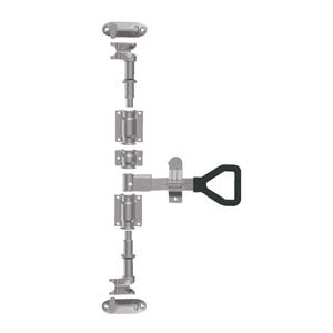 Штанговый замок Дельта ручка D27 оцинкованная сталь -211252
