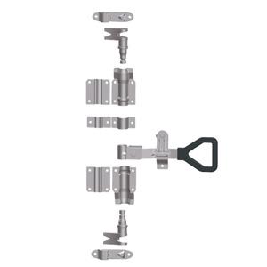 Штанговый замок Дельта усиленная ручка D27 372852s нержавеющая сталь