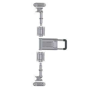 Штанговый замок Push ручка D27 оцинкованная сталь - 211263