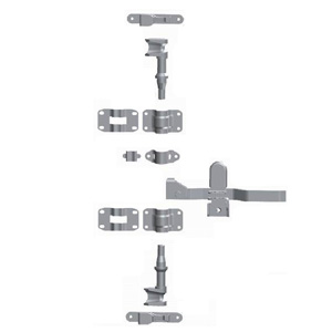 Штанговый замок прямая ручка D27 123211-2 оцинкованная сталь